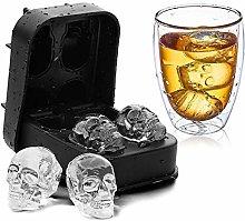 MYBHD 3D Ice Maker Cube Bar Vassoio in Silicone