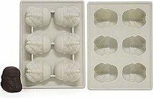 MYBHD - Vassoio per ghiaccio in silicone, stampo