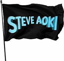 MYGED Bandiera da Giardino , Steve Aoki Bandiera
