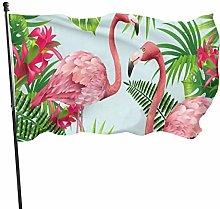 MYGED Flamingo Flag Bandiera da Esterno Bandiera