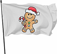 MYGED Garden Flag , Chistmas Cuties Gingerbread