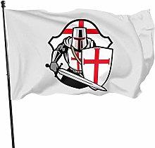 MYGED Garden Flag , Crociate Knights Templar