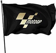 MYGED MotoGP-Logo Bandiera Leggera Personalizzata