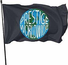 MYGED Prestige Worldwide Flag 3x5 Ft, Durable 100%
