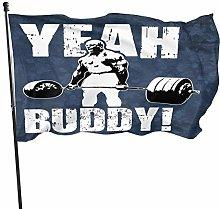 MYGED Sì Buddy-Ronnie Coleman Flag 3x5 Feet