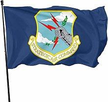MYGED Strategic Air Command Flag 3x5 Ft, Durable