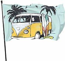 MYGED Surf Tour Flag Divertente Giardino Bandiera