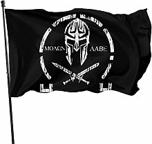 MYGED Warrior Flag 3x5 Ft, Resistente 100%