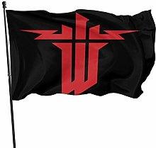 MYGED Wolfenstein Young-Blood Flag Bandiere da