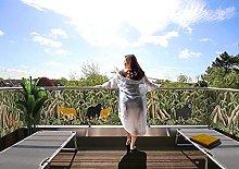 MyMaxxi Jungle - Paravento decorativo per balcone,