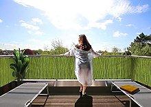 MyMaxxi Paravento per balcone di qualità | Bambù