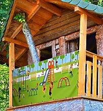 MyMaxxi Playground - Paravento per balcone, 3 x
