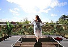 MyMaxxi Protezione per balcone Premium | Cammo