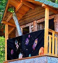 MyMaxxi Protezione per balcone Premium | Space 5 x
