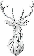 #N/A/a Acrilico Specchio Cervo Piastrelle Adesivo