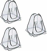 #N/A Set di 3 coperture per serra da giardino,