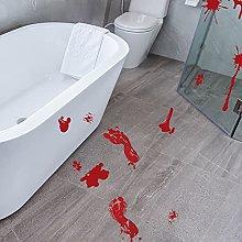 N\W Halloween Stregato orrore adesivo sangue