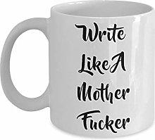 NA Scrivi Come Una Tazza di Cazzo di Mamma Regalo