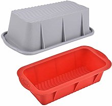 NACLY Silicone Bread And Loaf Tins, Senza BPA,
