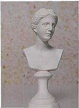 NaiCasy Nordic Style Mini Resina Gesso Figurine