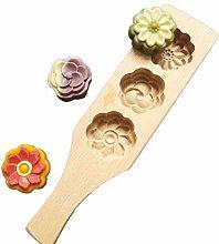 NAIXUE - Stampo in legno per torta di luna con
