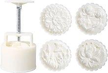 NAIXUE - Stampo per biscotti a forma di loto