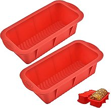 NALCY Silicone Bread And Loaf Tins, Silicone Non