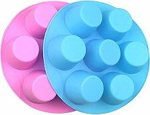 NALCY Silicone Vassoi per Muffin, Stampo in