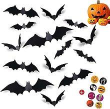 Nanxing 96 pipistrelli di Halloween, decorazioni
