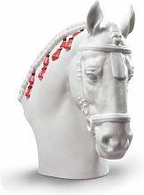 NAO Statuina Cavallo Andaluz (Bianco) Cavallo di