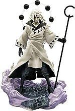 Naruto Uchiha Madara Testa mutevole Statua in