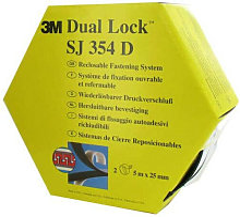 nastro di gomma Dual Lock SJ354D - 3M