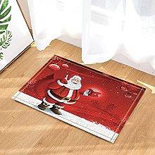 Natale con Babbo Natale e regali sulla neve