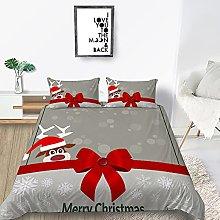 Natalizia Copripiumino - Fiocco di Natale Rosso E