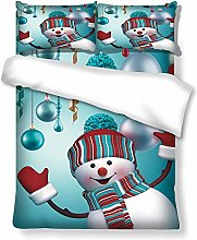 Natalizia Copripiumino - Pupazzo Di Neve Di Natale