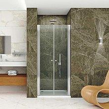 Natural box doccia nicchia cm 90 doppia porta