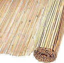 Nature Recinto Giardino in bambù Naturale 1,5x5m