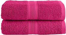 NatureMark Asciugamano da Sauna, Rosa Pink