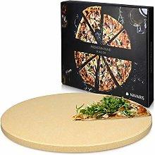 Navaris Pietra refrattaria per Cottura Pizza XL -