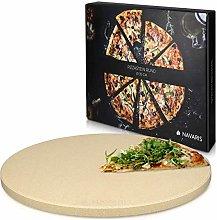 Navaris Pietra refrattaria XXL per Cottura Pizza -