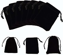 NBEADS 50Pcs Velluto Coulisse Sacchetto Regalo