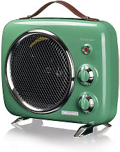 Nbr - Termoventilatore Vintage Verde 808