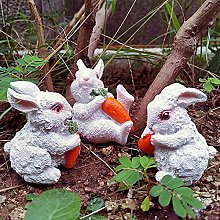 NBXLHAO Decorazione del Giardino del Coniglio,