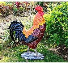 NBXLHAO Ornamenti Imitazione di Gallo E Gallina,