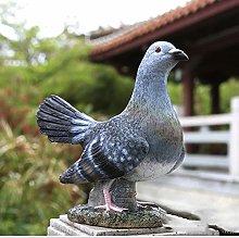 NBXLHAO Pigeon Sculpturem, White Dove Tortora