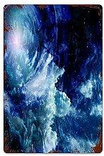 Nebulosa spaziale Nube di gas su sfera celeste