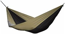 Nero/Sabbia PAR22 Amaca Paracadute, Nylon, 325 x