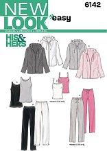 New Look 6142 - Cartamodello per Capi Coordinati