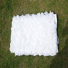 NIANXINN Rete Mimetica Caccia Bianco, Tenda