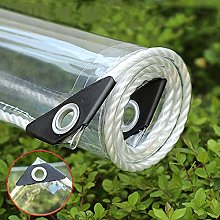 NIANXINN Telone PVC Impermeabile Trasparente con